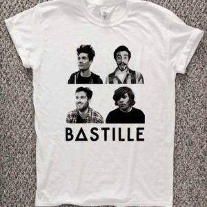 bastille band T-Shirt Unisex Adults Size S to 2XL
