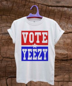 VOTE YEEZY Kanye West 2020 president campaign T Shirt Unisex Adults Size S to 2XL