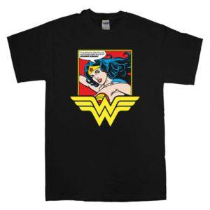 Wonder Women T-Shirt Unisex Adults Size S to 2XL