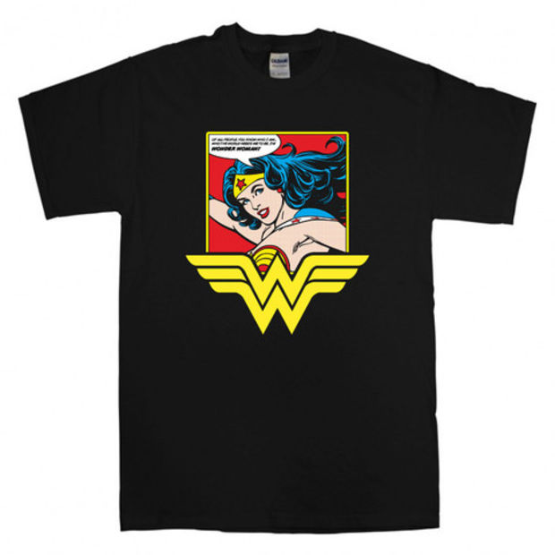 Wonder Women T-Shirt Unisex Adults Size S to 2XL