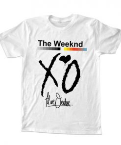 XO The Weeknd T-Shirt Unisex Adults Size S to 2XL