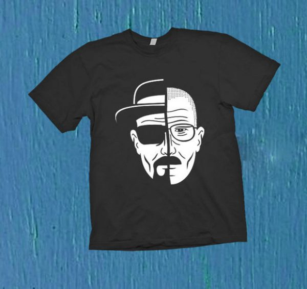 breaking bad two face T-Shirt Unisex Adults Size S to 2XL