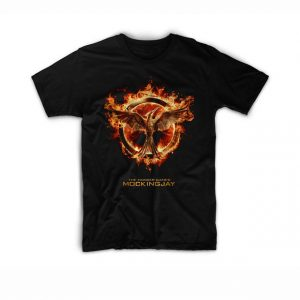 The hunger games mockingjay logo T Shirt Unisex Adults Size S to 2XL