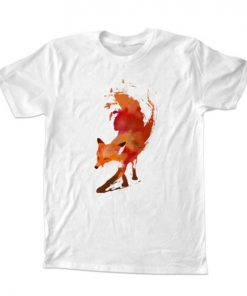 Vulpes fox T-Shirt Unisex Adults Size S to 2XL
