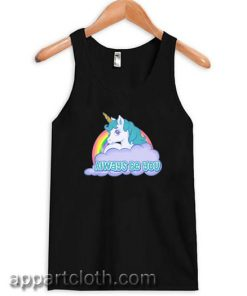 Central Intelligence Unicorn The Rock Dwayne Johnson Kevin Hart Tank Top