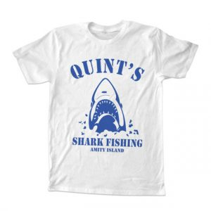 Quints Shark Fishing Unisex Tshirt