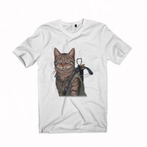 norman reedus cat Unisex Tshirt