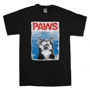 paws jaws parody Unisex Tshirt Men and Women