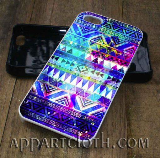 Aztec in Galaxy Nebula Space phone case