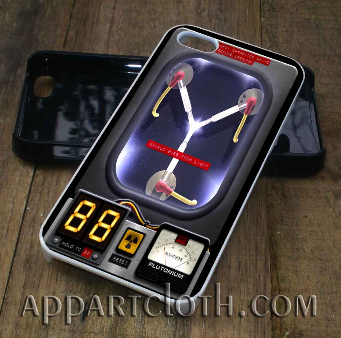 Back to the Future Flux Capacitor phone case