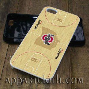 Basket Ball Wood Ohio State phone case