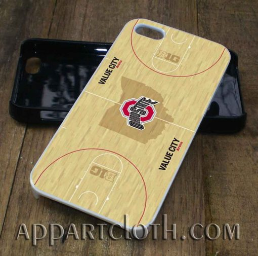 Basket Ball Wood Ohio State phone case