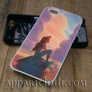 Beautiful Sunset Disney Ariel The Little Mermaid phone case iphone case, samsung case
