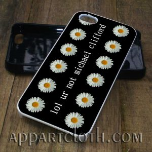 Lol ur not michael clifford phone case
