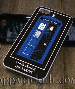 Look Inside The Tardis phone case