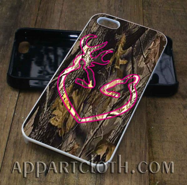 Love Browning Deer Camo phone case