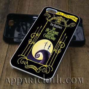 Love Nightmare Before Christmas phone case