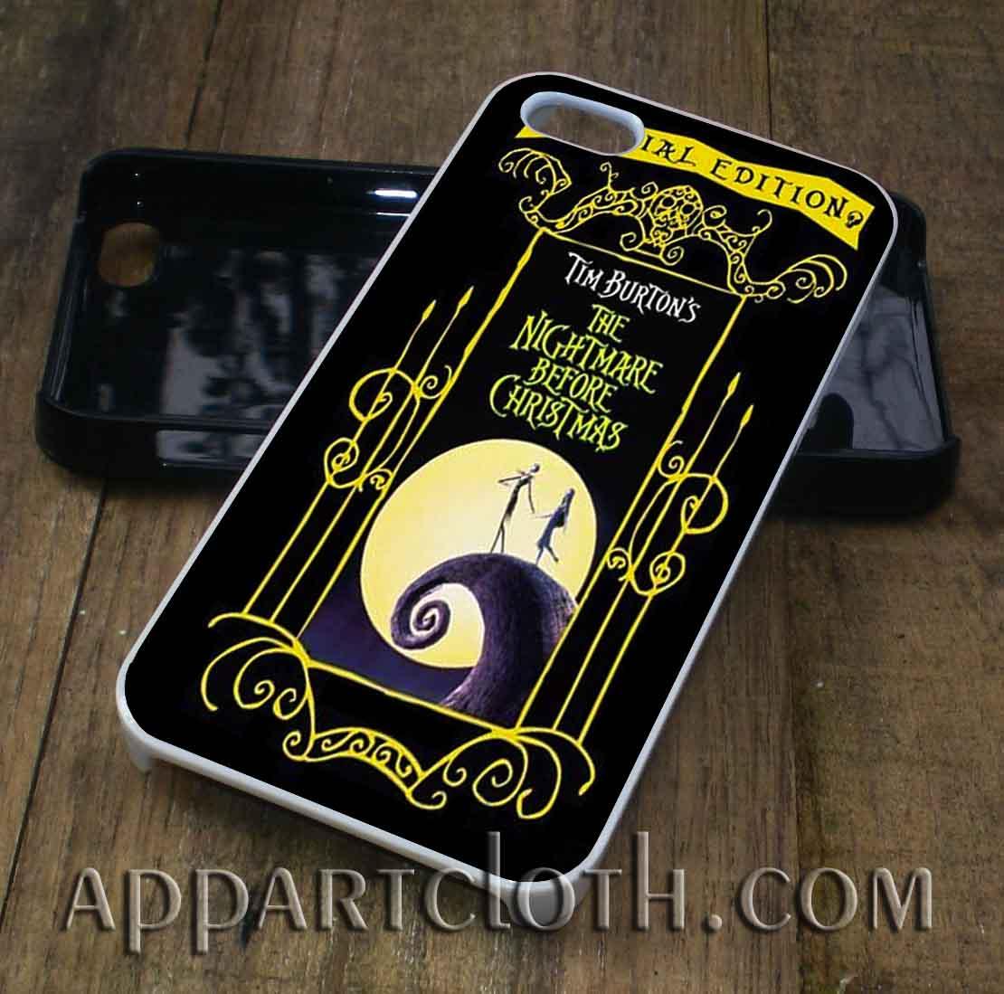 Love Nightmare Before Christmas phone case