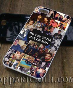 Magcon Collage Do you Gotta Bae Or Nah phone case