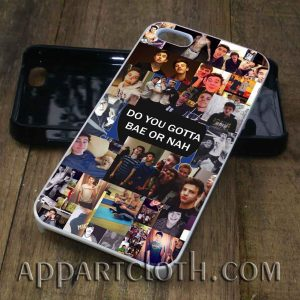 Magcon Collage Do you Gotta Bae Or Nah phone case