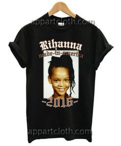 Rihanna Made In America 2016 Tour T Shirt Size S,M,L,XL,2XL