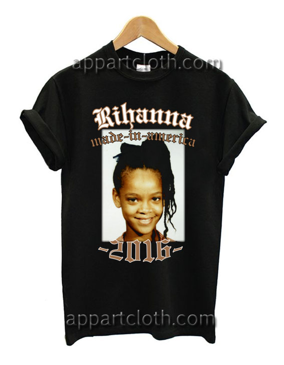 Rihanna Made In America 2016 Tour T Shirt Size S,M,L,XL,2XL