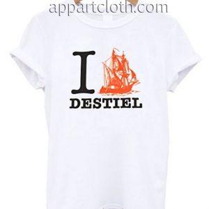 Ship Destiel T Shirt Size S,M,L,XL,2XL