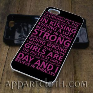audrey hepburn quote purple phone case