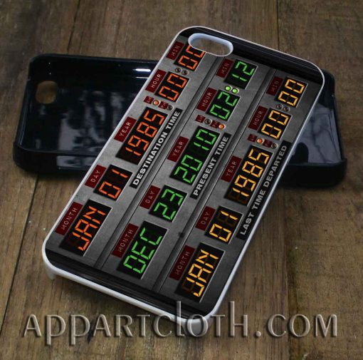 back to future time circuit phone case
