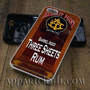 ballast point three sheets phone case
