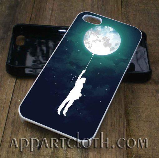 ballon moon phone case
