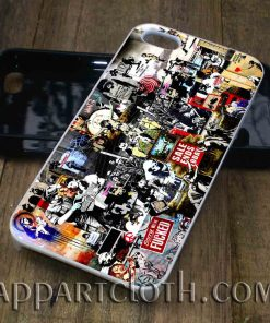 banksy tribute phone case