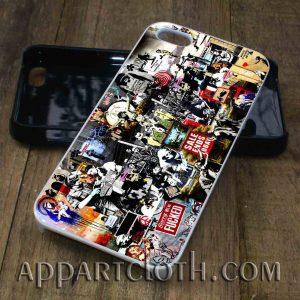banksy tribute phone case