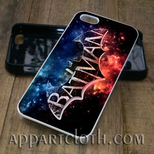 batman logo nebula phone case