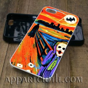 batman scream phone case