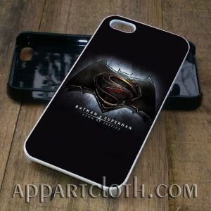 Batman superman dawn of justice logo phone case