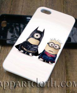 batman superman minion phone case