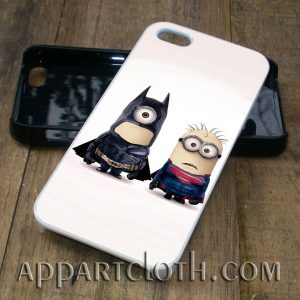 batman superman minion phone case