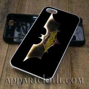 batman trinity phone case