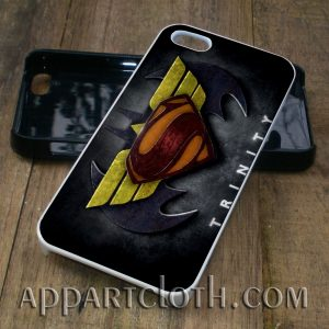 batman wonder woman superman trinity phone case