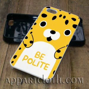 be polite face phone case iphone case, samsung case