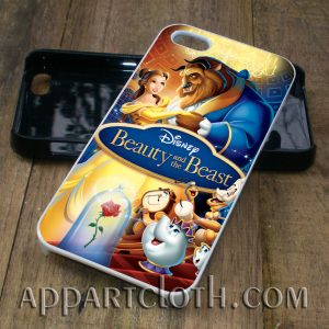 beauty and the beast (2) phone case iphone case, samsung case