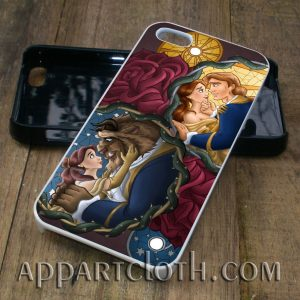 beauty and the beast disney princess cover phone case iphone case, samsung case