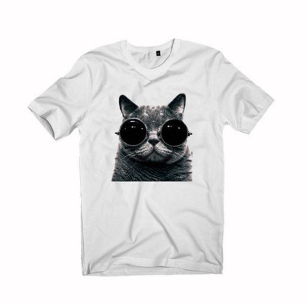 meow glasses Tshirt