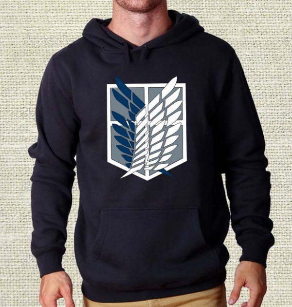 Attack on Titan Shingeki no Kyojin Hoodie