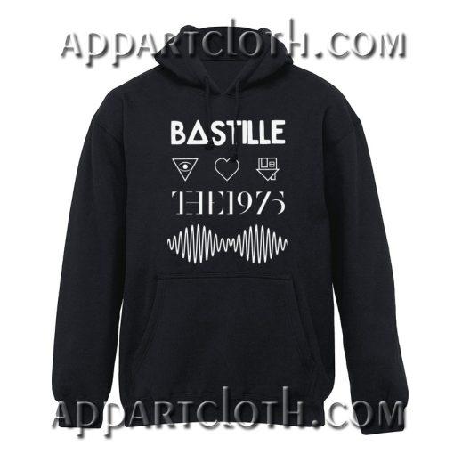 Bastille the 1975 Arctic Monkeys Hoodie