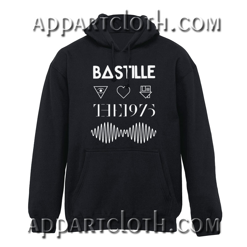 Bastille the 1975 Arctic Monkeys Hoodie