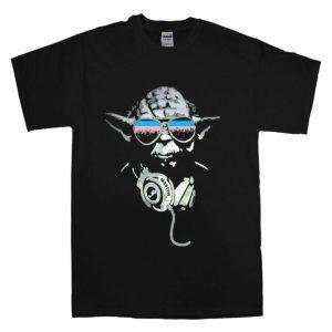 DJ Yoda Jedi Master Star Wars T Shirt Size S,M,L,XL,2XL