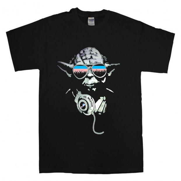 d7bcf81a DJ Yoda Jedi Master Star Wars T Shirt Size S,M,L,XL,2XL