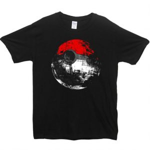Death Star Pokeball T Shirt Size S,M,L,XL,2XL